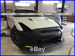 08-16 R35 Walker Style Full Wide Body Kit Bumpers/Fenders/Flares Fits Nissan GTR