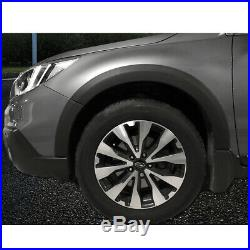 10Pcs Fender Flare Kit Wheel Arch Cover Trim For Subaru Outback 2015-2019 PP