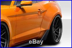 18-19 Ford Mustang Grid Duraflex Full 8pcs Fender Flares Body Kit! 115125