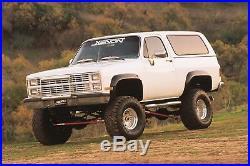 1981 1987 Blazer Jimmy CK Truck 4pc Fender Flare Set 8400 Kit