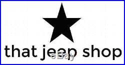 1987-1995 Jeep Wrangler 6 Wide Six Piece Pocket Fender Flares Kit 17191