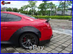 2007-2015 G37 2DR Coupe DP Style Wide Body Fender Flare Body Kit For Infiniti