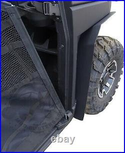2018-2019 Polaris Ranger XP 1000 Fender Flares Combo Kit (Extra Coverage)