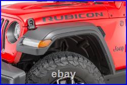 2020 2021 Jeep Gladiator Rubicon Fender Flares Wheel Lip Molding Kit Mopar OEM
