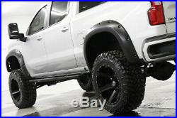 2020 Chevrolet Silverado 1500 MSRP$66115 4X4 Lifted RST Sunroof Silver Crew 4WD