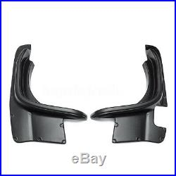 4PCS Car Fender Flare Kit Set For Suzuki Jimny Wheel Arch 2007-2018 Cover Black