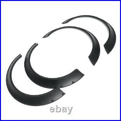 4Pcs 800mm Universal Flexible Car Fender Flares Extra Wide Body Wheel