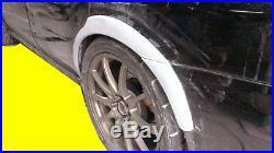 4 Pieces Rear Fender Flare Kit For 02 03 04 05 06 07 Fits Subaru Impreza Wrx Sti