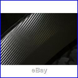 4pc Carbon Fiber Vinyl Fender Flare Wrap Kit for 2010-2014 Ford F-150 SVT Raptor