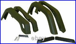 55254918K6 Crown Automotive 55254918K6 Fender Flare Kit Fits 97 06 Tj Wrangler