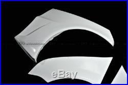 6pcs VRSStyle Wide Ver. Rear Over Fender Flare Kit For Mitsubishi EVO 10 FRP