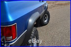 73-80 Chevy Blazer Truck Jimmy Suburban Xenon Urethane Fender Flares Kit 8390