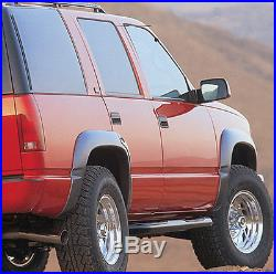 95-99 Chevrolet Tahoe GMC Yukon 4 Door Xenon Urethane 6pc Fender Flares Kit 8280