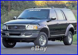 97-02 Ford Expedition Xenon Urethane Unpainted Fender Flares 6pc Kit 8340 NEW