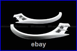 AAA VTX CBR Front Over Fender Wide Arch Flares Kit For Mitsubishi EVO 8 9 FRP