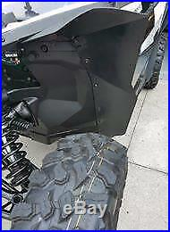 APEX Extended Fender Flare Kit, Can Am Maverick X3 (2017-19) Front & Rear