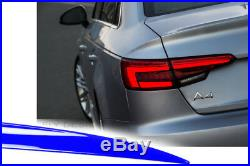 Audi A4 B9 RS4 2017 Widebody Tuning Heckspoilerlippe Abrisskante Trunk Lid Levre