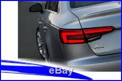 Audi A4 B9 RS4 2017 auto sport bakspoiler heckdiffusor diffuser optische tuning
