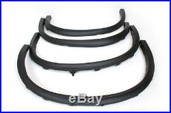 Auto Side Fender Flare Molding Trims Car Wheel Arch Fit for BMW X5 F15 2014-2016