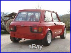 Autobianchi A112 Abarth Fender Flares Arches Extensions Wide Body Kit Group 2