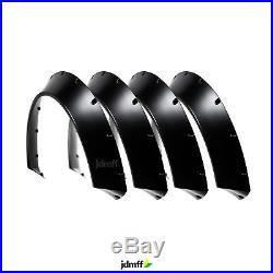 BMW 1 Kotflügelverbreiterung CONCAVE Fender flares body kit radläufe 90mm 4Stück