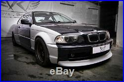 BMW 3 E46 Coupe Wide Body Fender Flares overfenders Drift Daily Body Kit 4 pcs