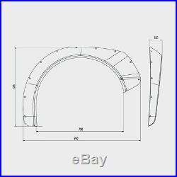 BMW 3-series e90 widebody kit/ universal fender flares