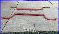 BMW E30 325ix Fender Flares Body Kit Red Zinnoberrot