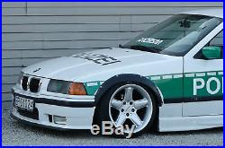 BMW E36 4 Doors Wide Body Kit. ABS Plastic Fender Flares Set. Wheel arches