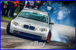 BMW E46 3 series Compact Wide body Kit Fenders Flares Overfenders Drift Racing