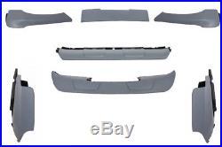 BMW X5 E70 AERODYNAMIC PERFOMANCE SKID PLATES AERO BODY KIT 06-09 +Fender Flares
