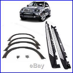 Bmw X5 E70 M Sport Fender Flares Trim Extension Running Boards