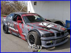 BMW e36 318i M3 BMW Fender Flares wide body kit 3.5 (90mm) 4pcs