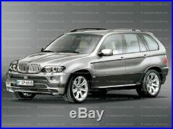 BMW e53 X5 4.6 4.8 IS FENDER FLARE SET M tech mtech mtechnic Euro Body Kit