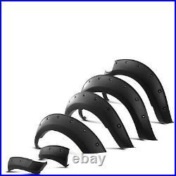 Black Fender Flare Wheel Arch Set Styling Kit For Nissan Navara Np300 2016+