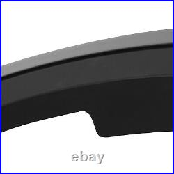 Black Fender Flare Wheel Arch Widening Styling Kit Set For Ford Ranger T8 2018+