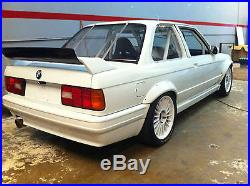 Bmw 3 E30 (1982-1994) Kit 4 Fender Flares / Wheel Arch Extensions Drift