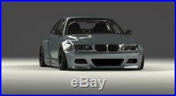 Bmw 3 E46 M3 Coupe Fender Flares Body Kit New