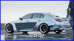 Bmw e60 M5 pandem style wide body kit 4door fender flares