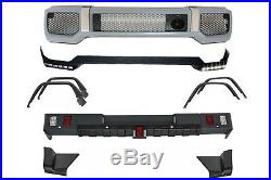 Body Kit For For Mercedes G-Class 89-17 G65 AMG Bumper Fender Flares Lip LED