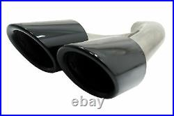 Body Kit for PORSCHE Cayenne Facelift 14-17 GTS Design Exhaust Tips Glossy Black