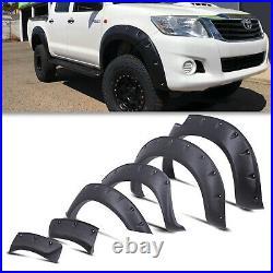 Bolt On Wide Body Wheel Arch Fender Flare Kit For Toyota Hilux Vigo 05-12