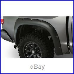 Bushwacker Black Pocket-Style Fender Flares Kit Fits 2014-2020 Toyota Tundra 4pc
