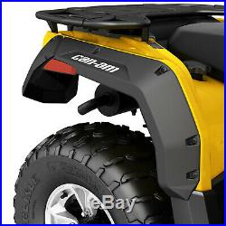 Can-Am New OEM Outlander L, Max Extended Fender Flare Mud Guard Kit 715001909