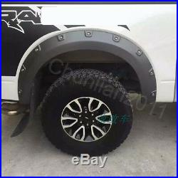 Car Fender Flare Kit Wheel Arch Cover Trim For 09-14 FORD F150 F-150