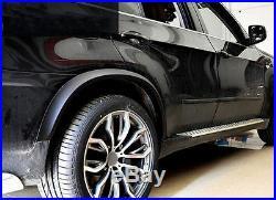 Car Fender Flare Kit Wheel Arch Cover Trim For 2011-2013 BMW X5 E70 (4pcs)