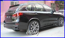 Car Fender Flare Kit Wheel Arch Cover Trim For 2014-2018 BMW X5 F15 (4pcs)