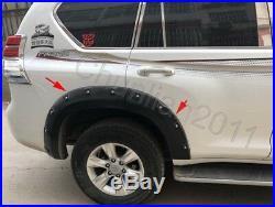 Car Fender Flare Trim Kit Wheel Arch Cover For 10-16 Toyota LC PRADO FJ150 2700