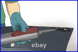 Car body kit bumper spoiler fender flare Adhesive Glue BMW Mercedes VW Honda
