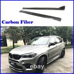 Carbon Fiber Side Skirt Extension Lip Body kit For BMW F86 X6M F85 X5M 14-18